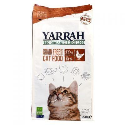 Yarrah kattenbrokjes kip met vis - 2,4kg
