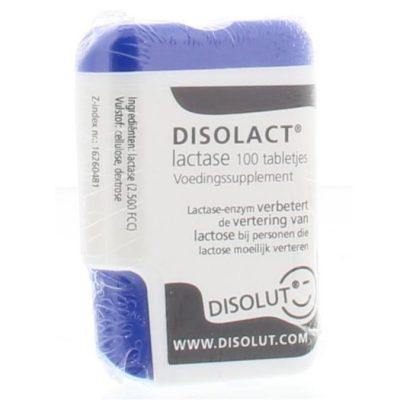 Disolact lactase tabletjes 2500 FCC