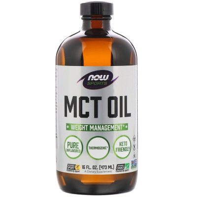 Now Foods, Sports, MCT Oil, Unflavored, 16 fl oz (473 ml