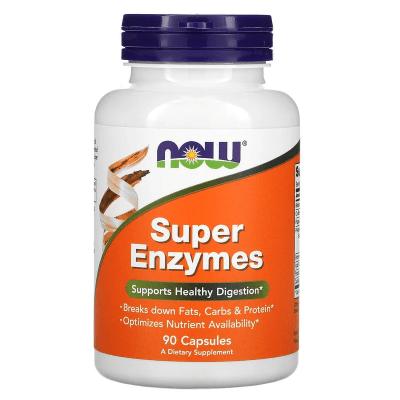 Super Enzymes - Now - 90 caps